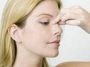 ماساژ بینی بعد از عمل